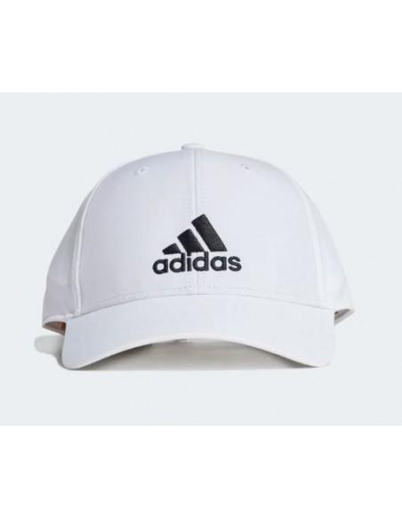 ADIDAS BBALLCAP LT EMB WHITE/WHITE/BLACK