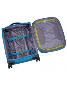 ACTION TROLLEY 4 RUOTE GRANDE BLU