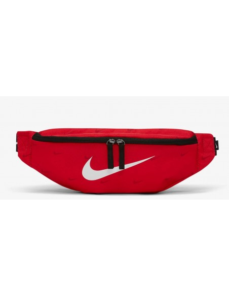 NIKE NK HERITAGE HIP PACK ROSSO