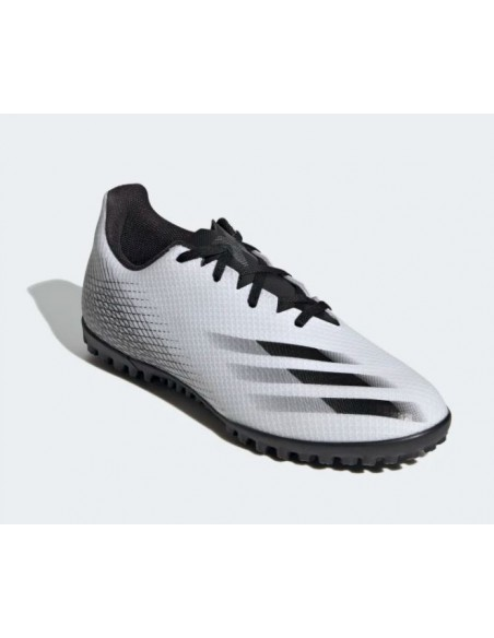 ADIDAS X GHOSTED.4 TF CALCETTO BIANCO